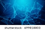 concept of network  internet... | Shutterstock . vector #699818803