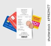 vector sales printed receipt...