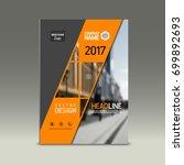 cover design  corporate... | Shutterstock .eps vector #699892693