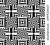 seamless pattern with black... | Shutterstock .eps vector #699924037