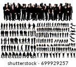 vector  isolated  a collection... | Shutterstock .eps vector #699929257