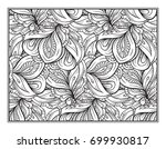 vector abstract pattern page... | Shutterstock .eps vector #699930817