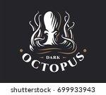 octopus logo   vector... | Shutterstock .eps vector #699933943