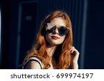 beautiful young woman in... | Shutterstock . vector #699974197