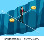 isometric business concept of... | Shutterstock .eps vector #699978397