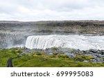 spectacular dettifoss waterfall ... | Shutterstock . vector #699995083