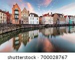 Bruges Canals  Spiegelrei With...
