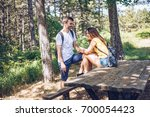 love bench | Shutterstock . vector #700054423