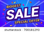 big sale template banner vector ... | Shutterstock .eps vector #700181293