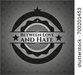 between love and hate dark... | Shutterstock .eps vector #700201453
