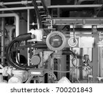 flow meter of corrosion...   Shutterstock . vector #700201843