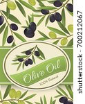 background for olive oil  ... | Shutterstock .eps vector #700212067