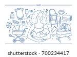 Maternity Concept. Horizontal...