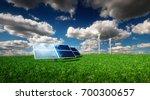 renewable energy concept  ... | Shutterstock . vector #700300657
