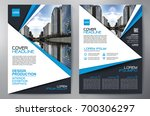 business brochure. flyer design.... | Shutterstock .eps vector #700306297