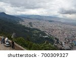 bogota  colombia   ca. april... | Shutterstock . vector #700309327