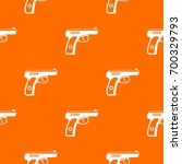 gun pattern repeat seamless in... | Shutterstock .eps vector #700329793