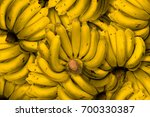 bananas that stacked into the... | Shutterstock . vector #700330387