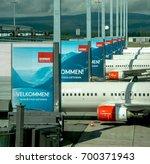 norway  oslo  gardermoen... | Shutterstock . vector #700371943