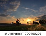 motorcyclists on the road | Shutterstock . vector #700400203