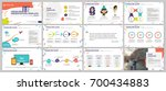 colored elements for... | Shutterstock .eps vector #700434883