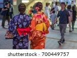 tokyo  japan   august 19th ... | Shutterstock . vector #700449757
