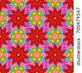 abstract ethnic vector seamless ... | Shutterstock .eps vector #700479547