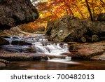 Cascading Waterfall In Jiri...
