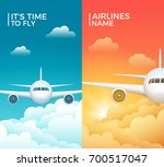travel airplane tourism vector... | Shutterstock .eps vector #700517047
