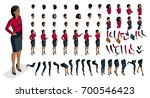 large set people's emotions in... | Shutterstock .eps vector #700546423