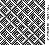 seamless geometric pattern with ... | Shutterstock .eps vector #700547317