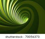 Green Vortex Background