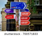 information sign with...   Shutterstock . vector #700571833