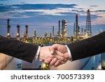 dubble exprosure business... | Shutterstock . vector #700573393