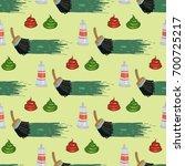 pattern  vector illustration ... | Shutterstock .eps vector #700725217