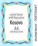 frame and border of ribbon with ...   Shutterstock .eps vector #700731067