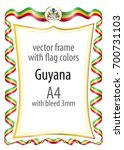 frame and border of ribbon with ...   Shutterstock .eps vector #700731103