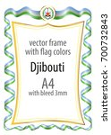 frame and border of ribbon with ...   Shutterstock .eps vector #700732843