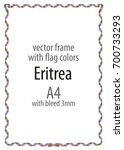 frame and border of ribbon with ...   Shutterstock .eps vector #700733293