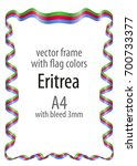 frame and border of ribbon with ...   Shutterstock .eps vector #700733377