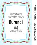 frame and border of ribbon with ...   Shutterstock .eps vector #700734067