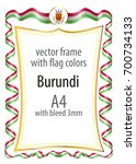 frame and border of ribbon with ...   Shutterstock .eps vector #700734133