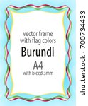 frame and border of ribbon with ...   Shutterstock .eps vector #700734433