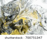abstract hand painted black and ... | Shutterstock . vector #700751347