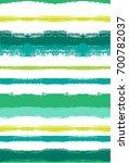 seamless vector summer pattern. ... | Shutterstock .eps vector #700782037