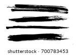 grunge paint stripe . vector... | Shutterstock .eps vector #700783453