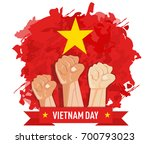 hand fist arm the symbol of... | Shutterstock .eps vector #700793023