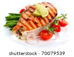 Grilled Salmon With Lime ...