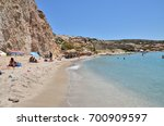 firiplaka beach  milos island ...   Shutterstock . vector #700909597