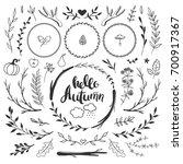 Autumn Decorative Set With...